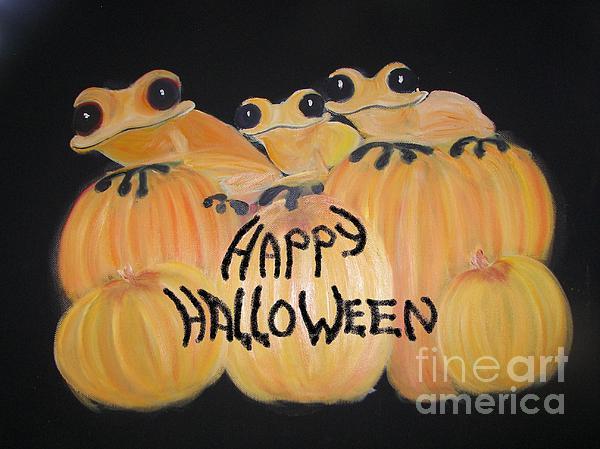 Pumpkin Two Print by Rachel Carmichael