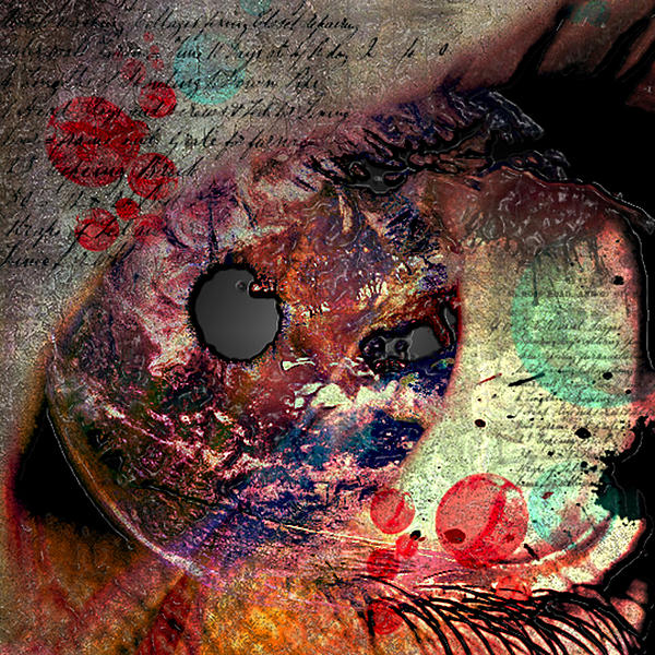 Pupil Of Pleasures  Print by Jerry Cordeiro