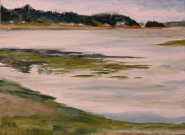 Purdy At Low Tide Print by Mary McInnis