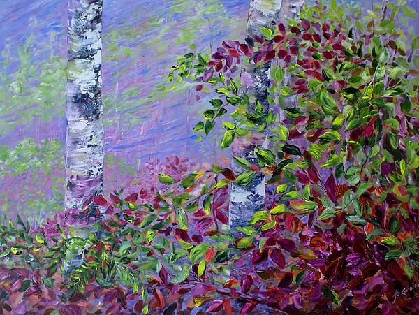 Purple Haze Print by Joanne Smoley