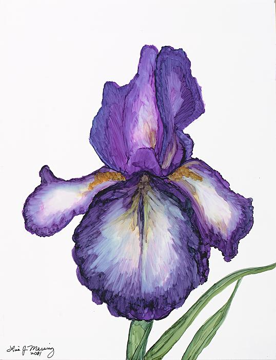 Lisa  Marsing - Purple Iris