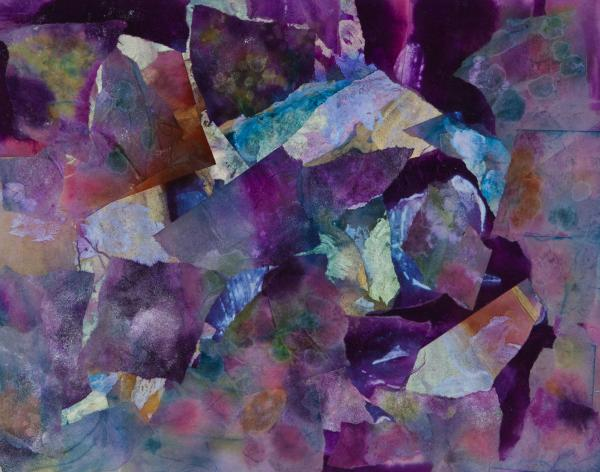 Purple Passion  Print by Don  Wright