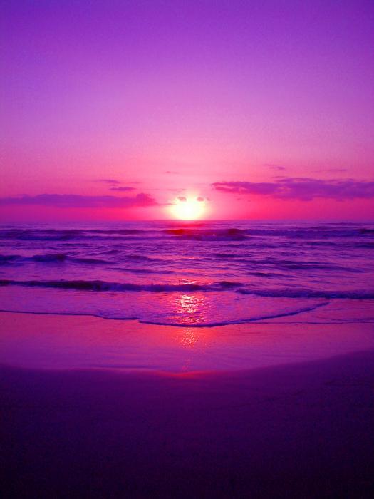Light Pink Sunset Tumblr Download Purple Sunrise By Richie Tatum