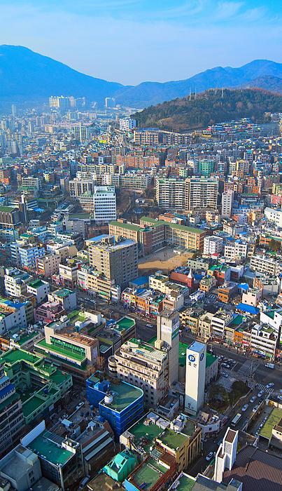Pusan City South Korea 2012 Print by Eduard Kraft