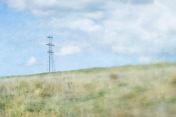 Pylon Print by Jill Ferry