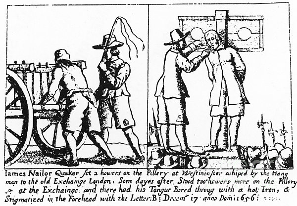 Quaker Persecution Print by Granger