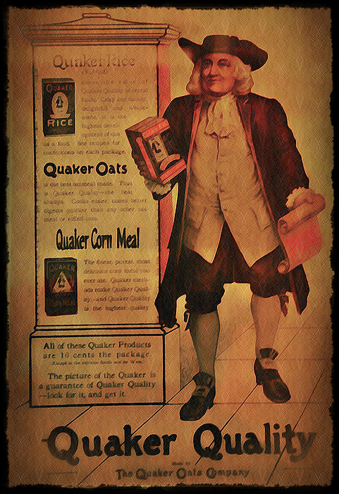 Quaker Quality Print by Bill Cannon