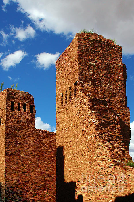 Quarai Salinas Pueblo Missions National Monument Print by Christine Till