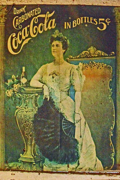 Queen Drinks Coca Coala Print by Cyryn Fyrcyd