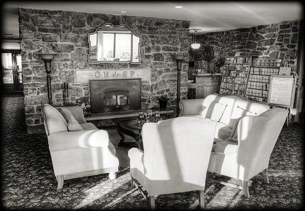 Queen Wilhelmina Lodge Print by Ricky Barnard