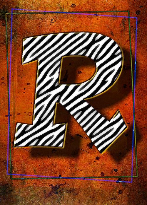 R Print by Mauro Celotti