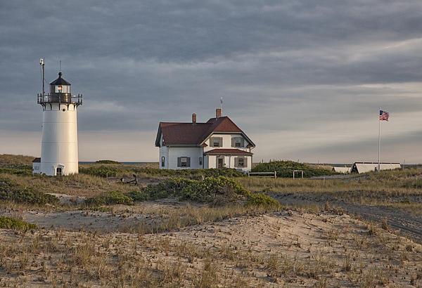 Race Point Lighthouse Print by Nicholas Palmieri