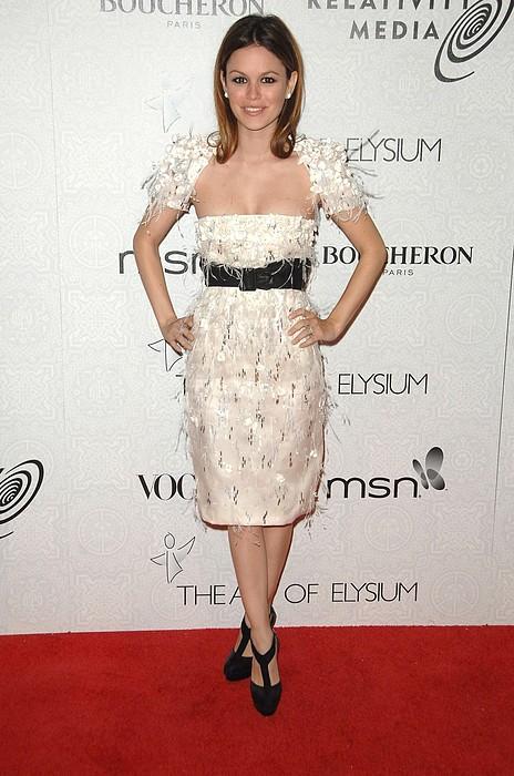 Rachel Bilson Wearing A Chanel Dress Print by Everett
