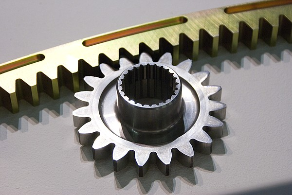 Rack And Pinion Print by Mark Williamson