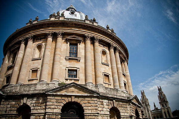 Radcliffe Camera Print by Steven Gray
