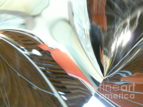 Radial Reflection 2 Print by Donna McLarty