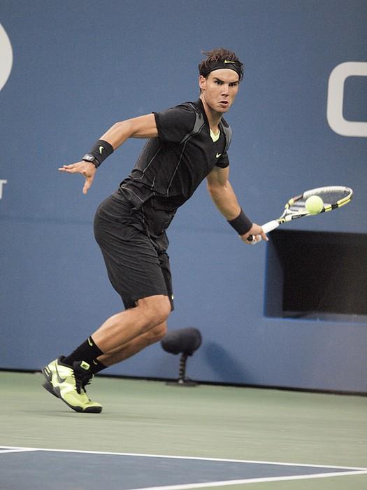 Rafael Nadal In Attendance For Us Open Print by Everett