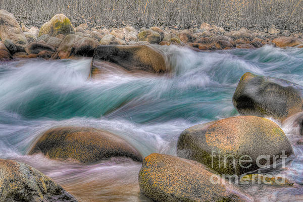 Raging Waters Print by Naman Imagery