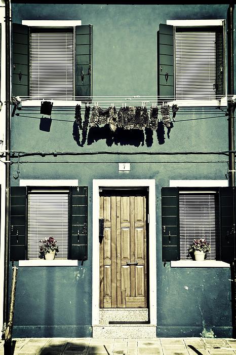 rags in Venice Print by Joana Kruse