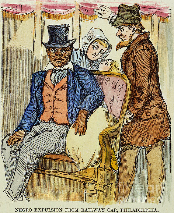 Railway Segregation, 1856 Print by Granger