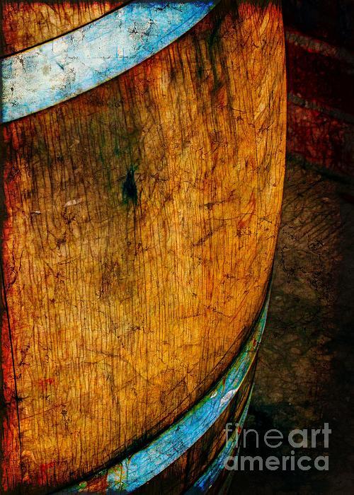 Rain Barrel Print by Judi Bagwell