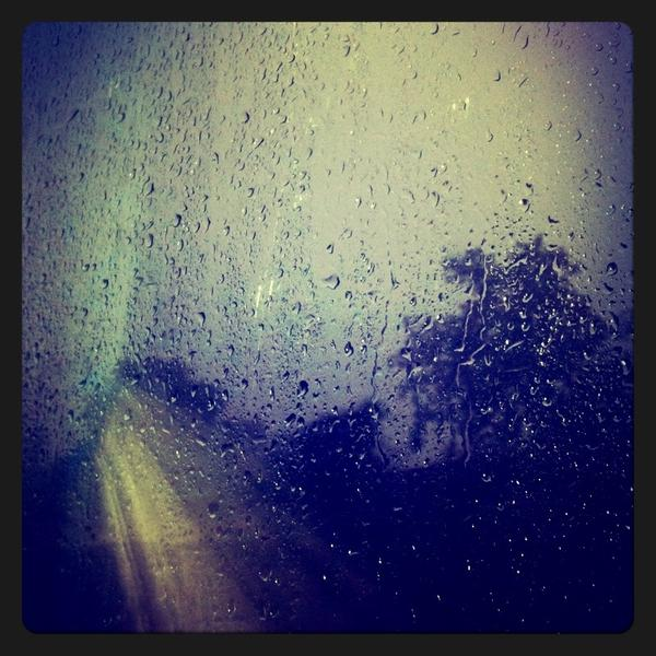 Rain Drops Print by Sumit Jain