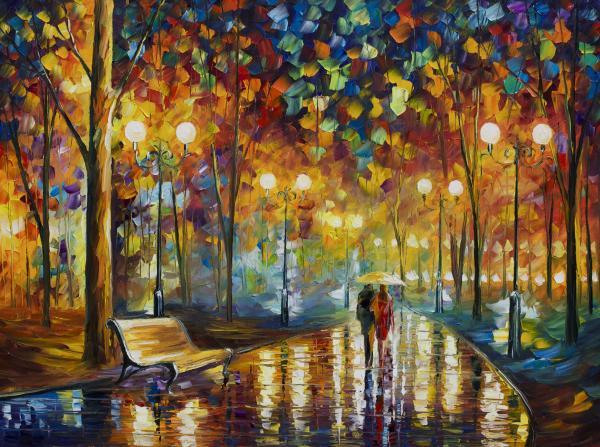Leonid Afremov - Rain