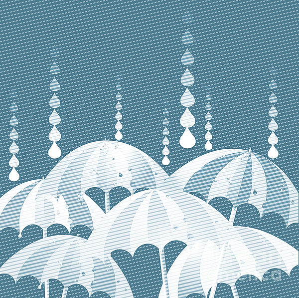 Rainy Day Print by HD Connelly