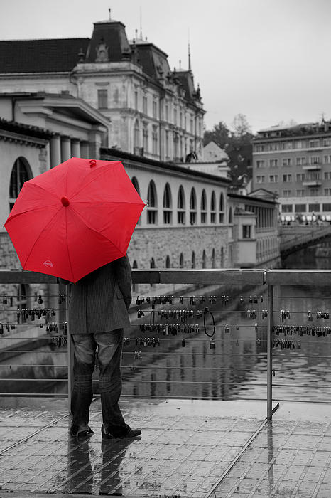Ian Middleton - Rainy days in Ljubljana