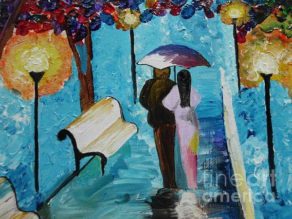Dawn Plyler - Rainy walk