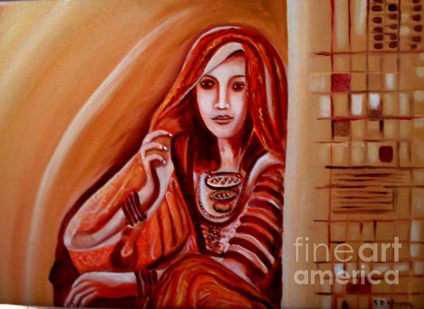 Rajasthan Beauty Painting