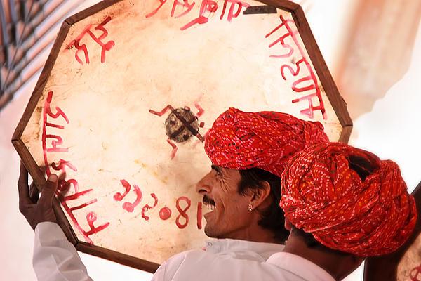 Rajasthani Drummers Print by Mostafa Moftah