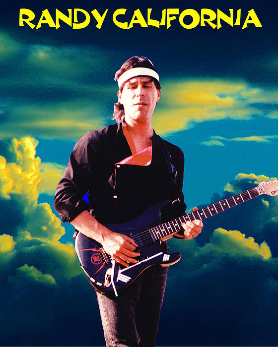 Randy In The Clouds 2 Print by Ben Upham