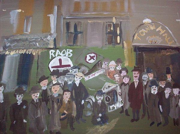 Raob Ambulance Print by Judith Desrosiers