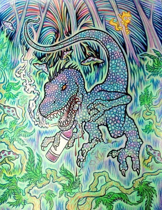 Raptor Print by Jordan Kotter