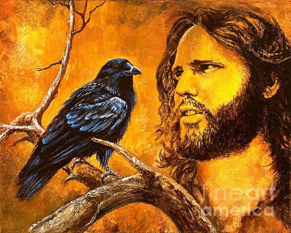 Raven Print by Igor Postash