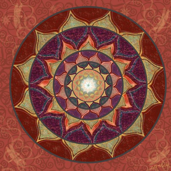 Elizabeth Alexander - Realm of the Desert Lotus Mandala