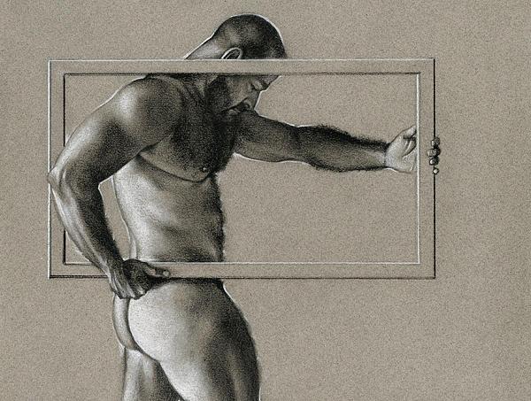 Rectangle Print by Chris Lopez