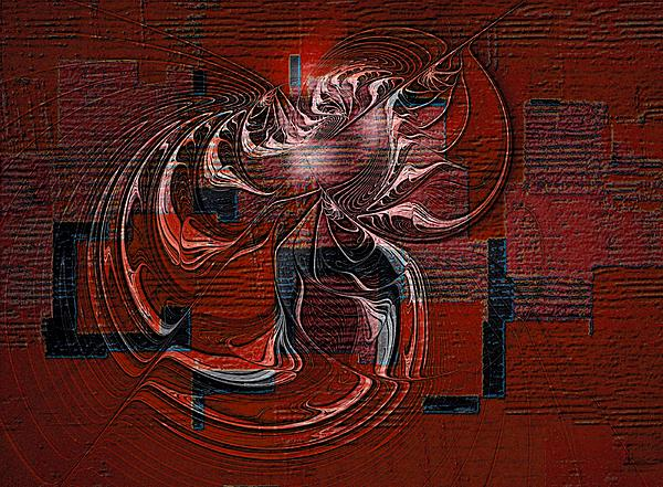 Amanda Moore - Red Abstract