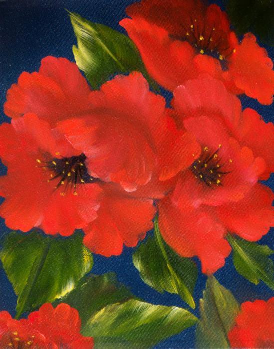 Red Beauty Print by Joni McPherson