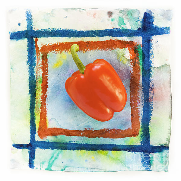 Red Bell Pepper Print by Igor Kislev