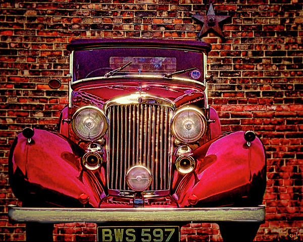 Chris Lord - Red Bentley Convertible