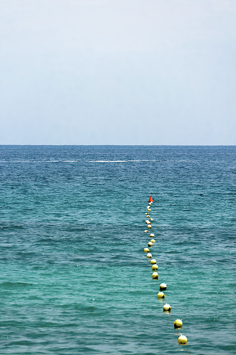 Red Buoy Print by Daniel Kulinski