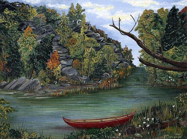 Robin Champagne - Red Canoe