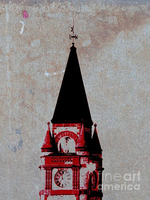 Barbara Henry - Red Clock Tower