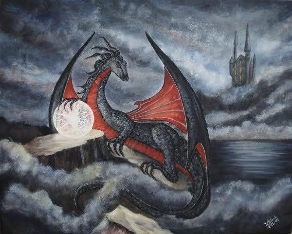 http://images.fineartamerica.com/images-medium/red-dragon-wahleyah-black.jpg