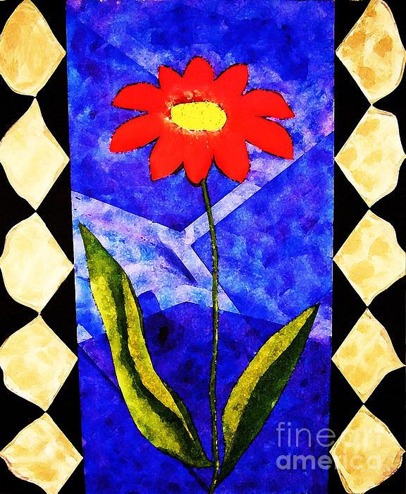Ashley Mariani - Red Flower
