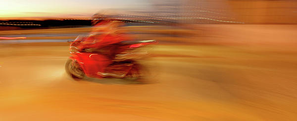 Red Hot Print by Glennis Siverson
