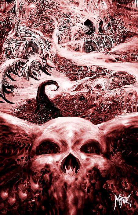 red Print by Martin Montiel