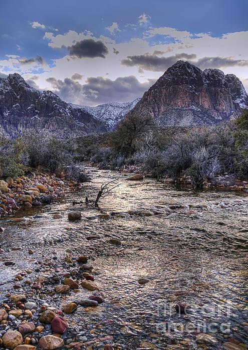 Eddie Yerkish - Red Rock Canyon Stream